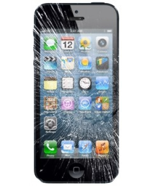 iphone 5 cracked screen $60